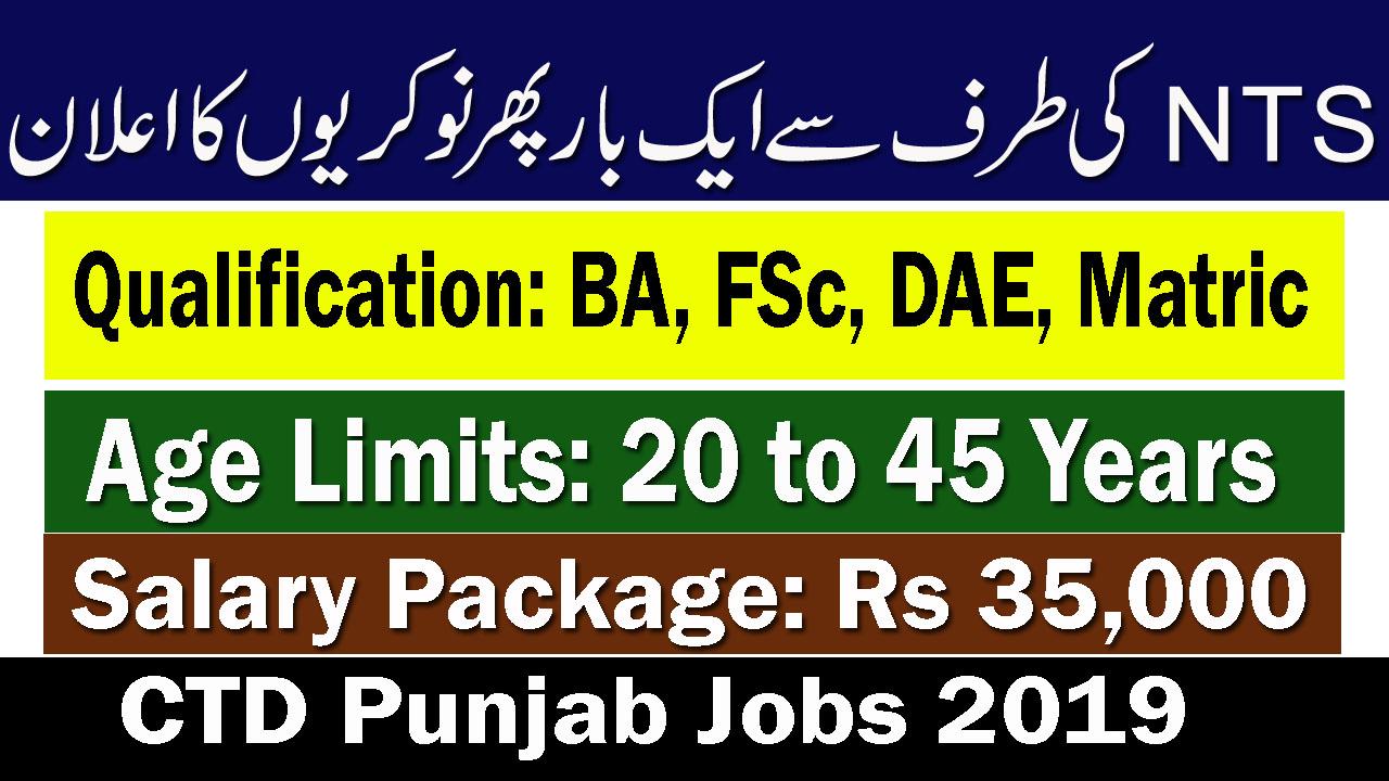 CTD-Punjab-Jobs-2019