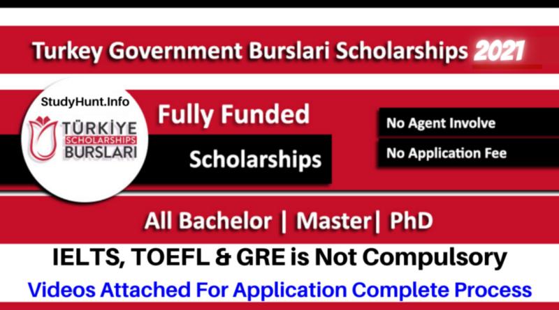 Turkiye Burslari Scholarships 2021 for BS, MS, and PhD (Fully Funded) For International Students