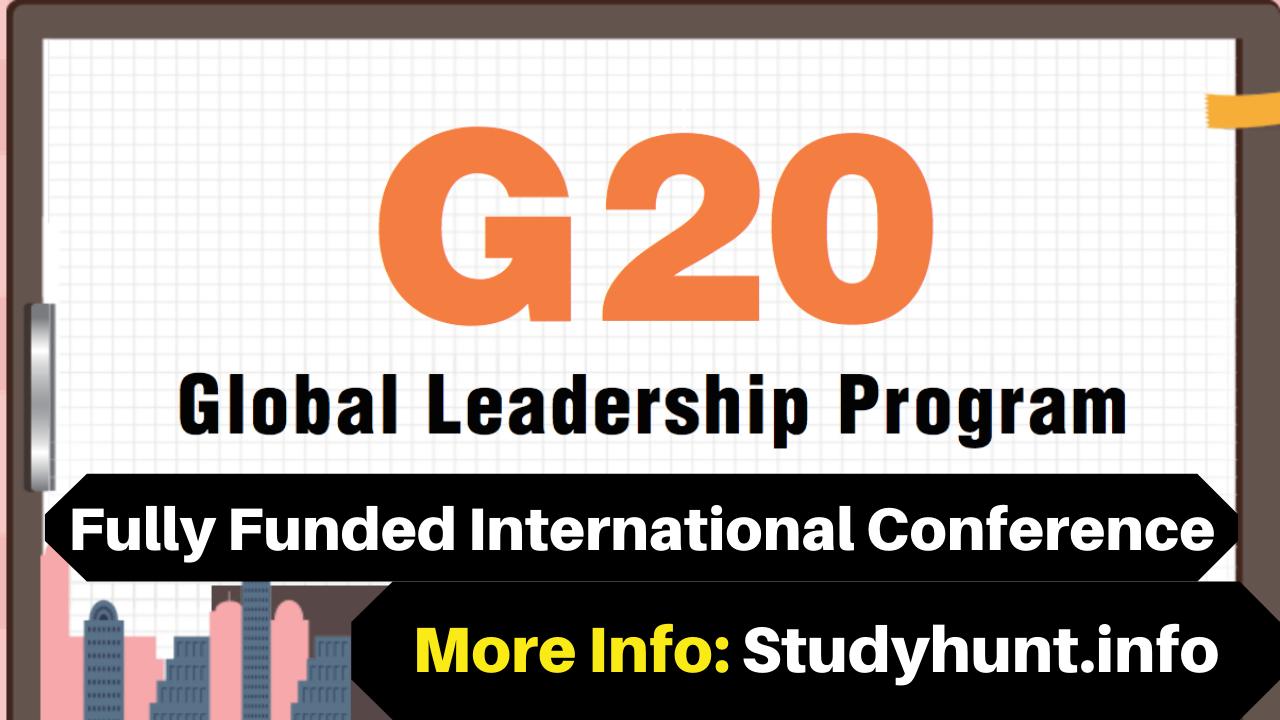 G20 Global Leadership Program 2020 (Fully Funded) in South Korea