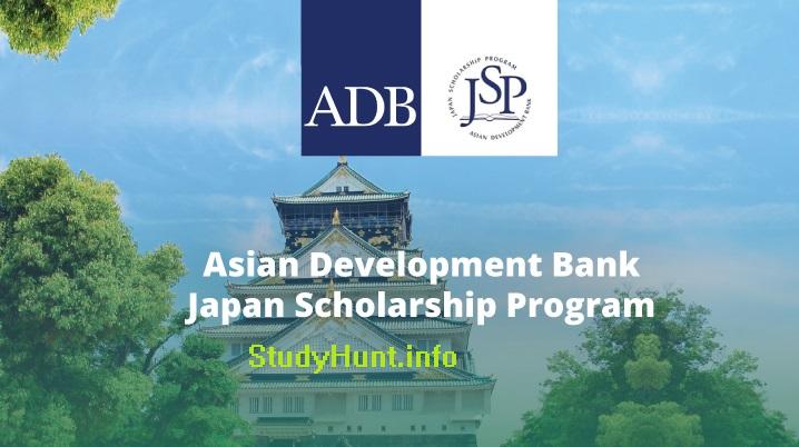 Asian Development Bank Japan Scholarship 2020