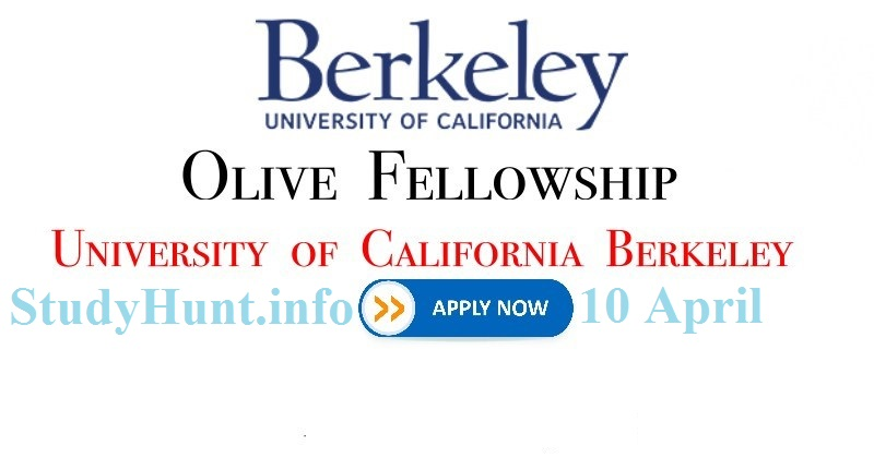 Fully Funded Olive Fellowship 2020
