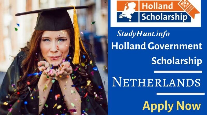 Holland Scholarship For International Students 2020-2021
