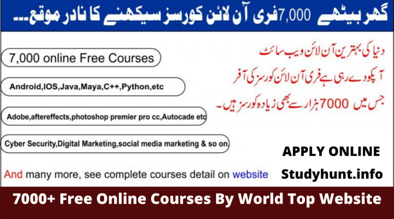 7000 Free Online Course
