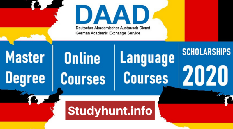 DAAD Germany Online Masters & Short Courses Scholarships 2020