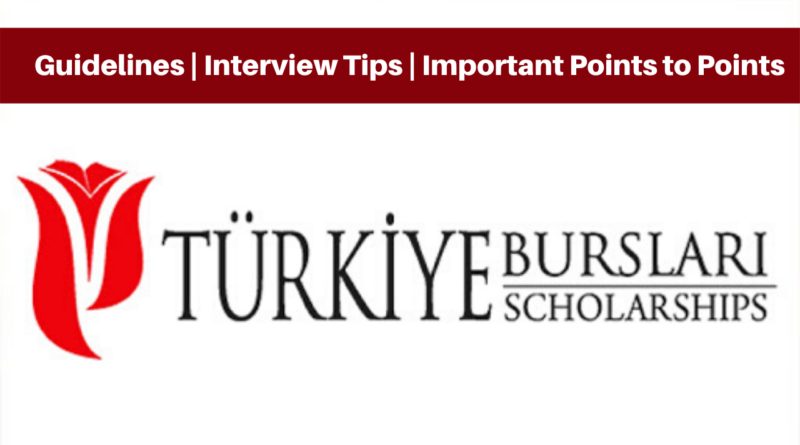 Turkiye Burslari Interview Guidelines Interview Tips