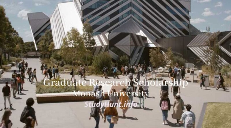 Monash University Graduate Scholarships