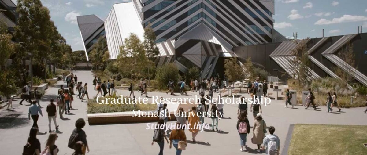Graduate Research Scholarships at Monash University 2021 ...