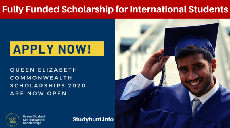 Queen Elizabeth Commonwealth Scholarships 2021 (Fully Funded)