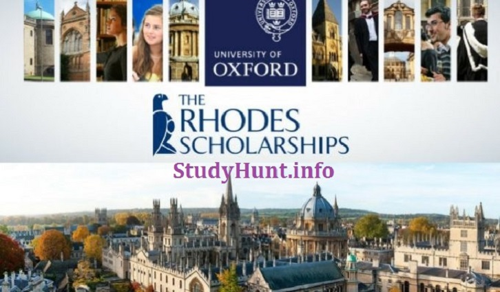 Rhodes Scholarship at Oxford University in the UK