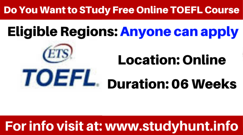 TOEFL Free Test Preparation by Educational Testing Service