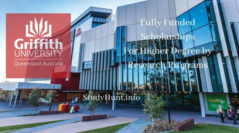 Griffith University scholarships in Australia