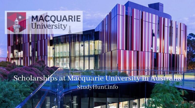 Scholarships at Macquarie University in Australia