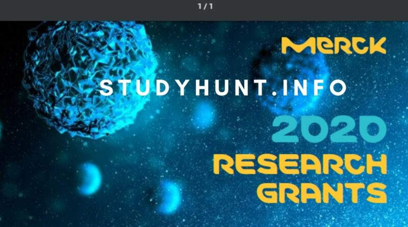 Merck Research Grants 2020