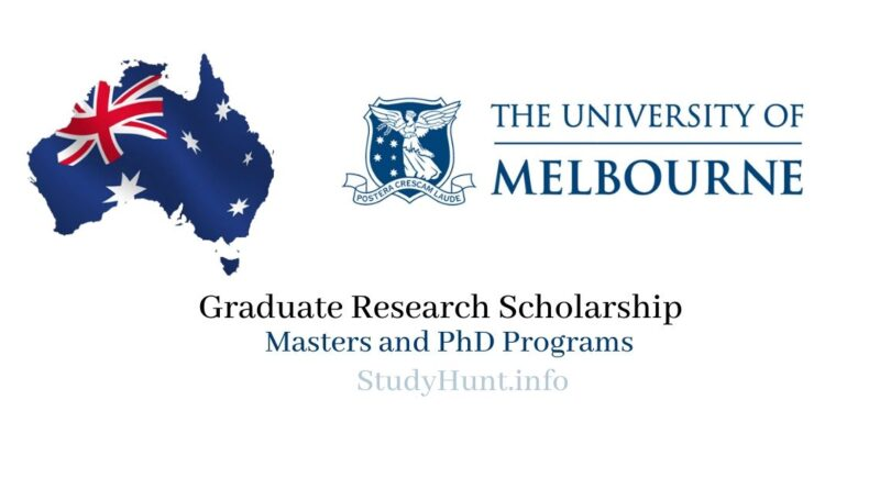 University of Melbourne scholarships 2021.