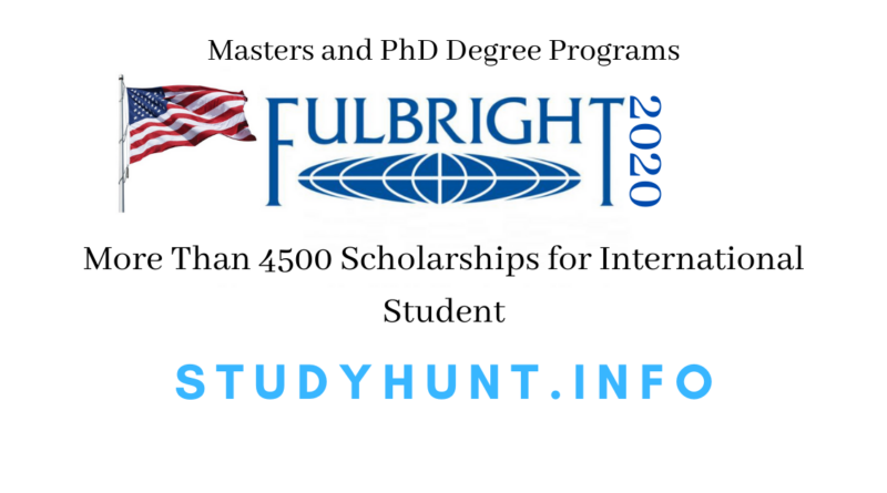 fulbright scholarship 2020