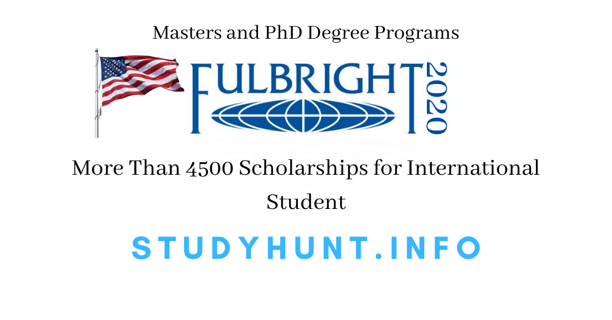 Fulbright Scholarship in USA - StudyHunt