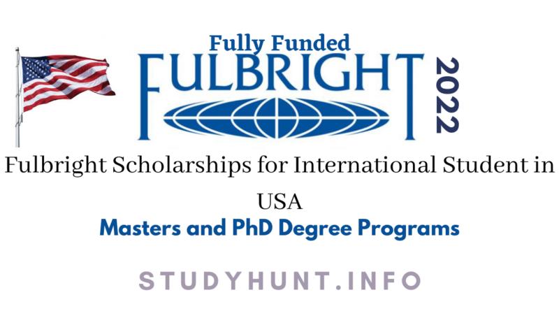 fulbright scholarship 2022