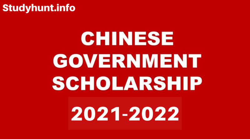 Fully Funded Chinese Government Scholarships 2021