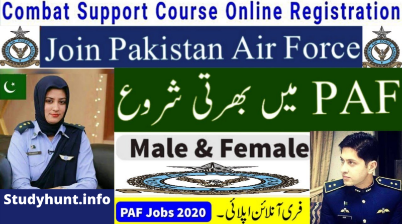 Join PAF as Medical Officer 2020