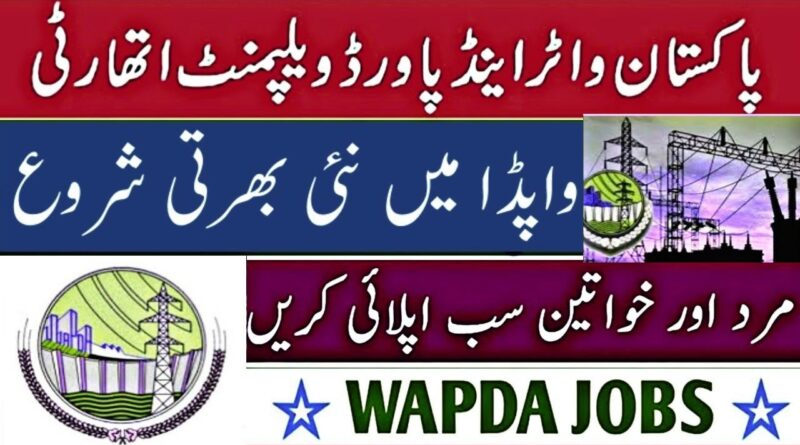 wapda jobs 2020 through PTS