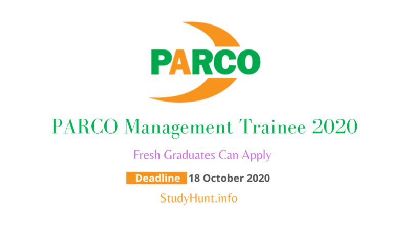 PARCO Management Trainee 2020