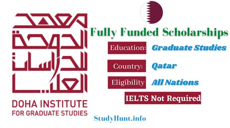 Doha Institute of Graduate Studies Scholarships 2022 in Qatar