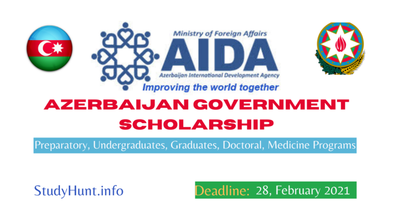 Azerbaijan Government Scholarship 2021