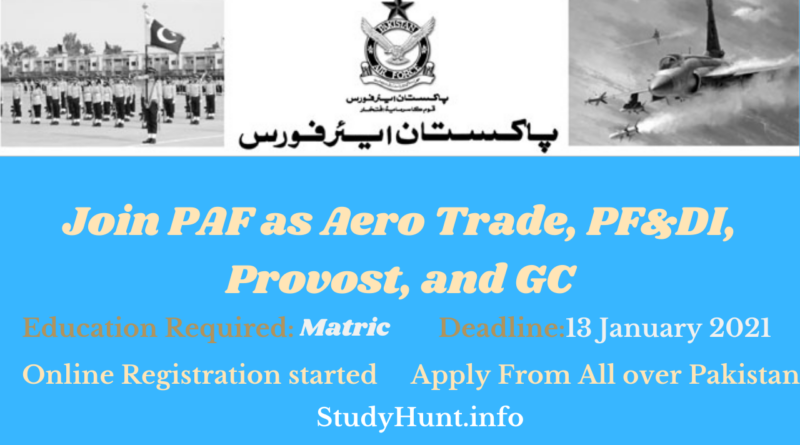 Join PAF 2021 as Aero Tradd