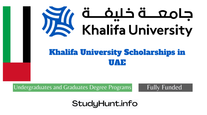 Khalifa University Scholarships for international students in UAE