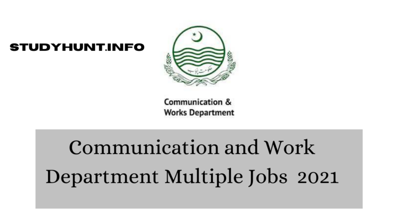 communication and work department jobs