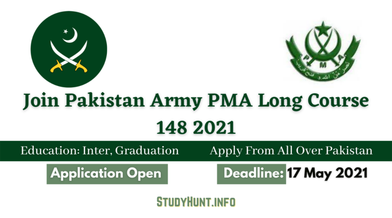 Join Pakistan Army PMA Long Course 148 2021