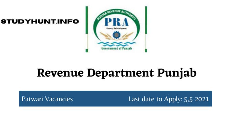Revenue Department Punjab
