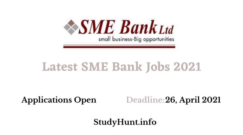 SME Bank Jobs 2021