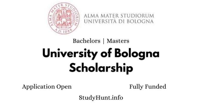 University of Bologna Scholarship