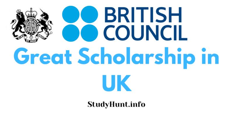 Great Scholarship in uk 2021-2022