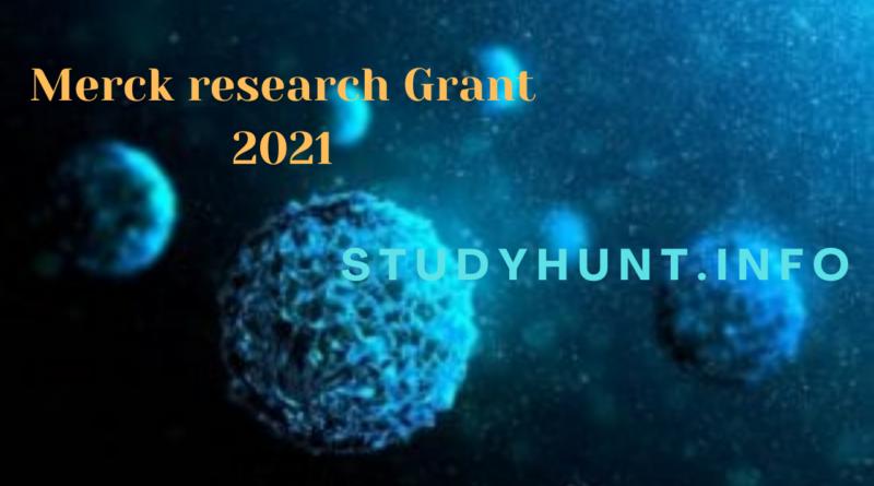 Merck research Grant 2021