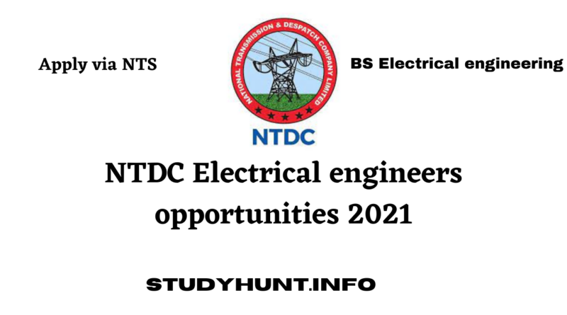 NTDC Electrical engineers opportunities 2021