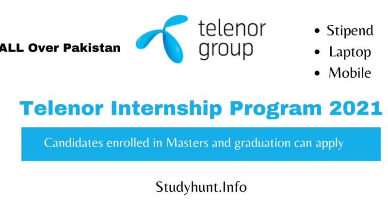 Telenor Internship Program 2021