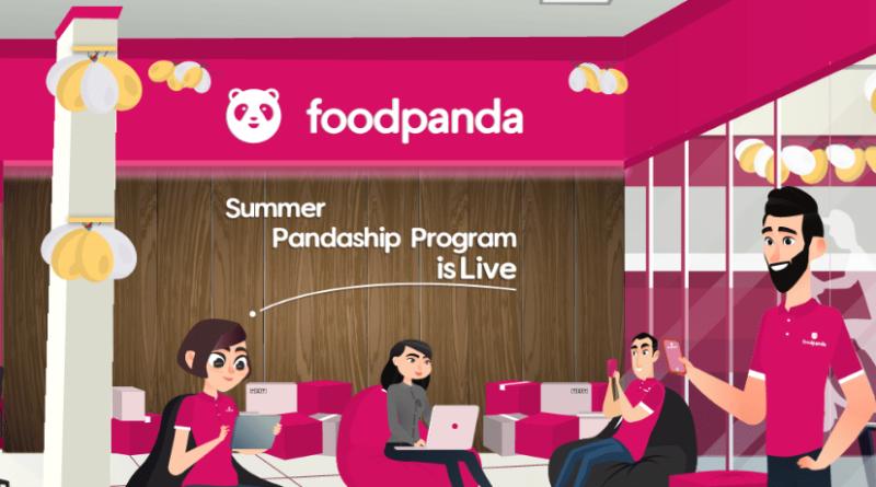 foodpanda internship 2021