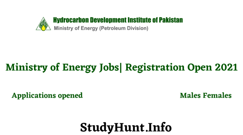 Ministry of Energy Jobs 2021| Apply Now