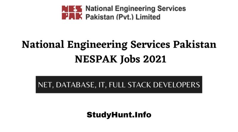 National Engineering Services Pakistan NESPAK Jobs 2021