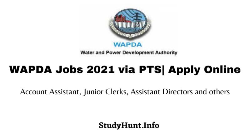 WAPDA Jobs 2021 pts