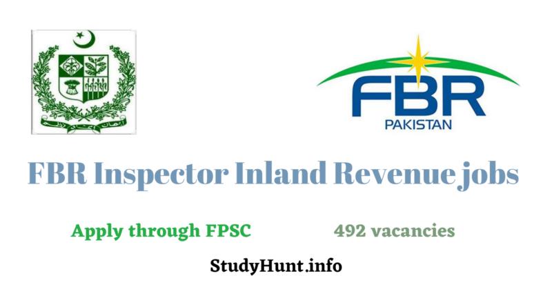 FPSC FBR Jobs 2021