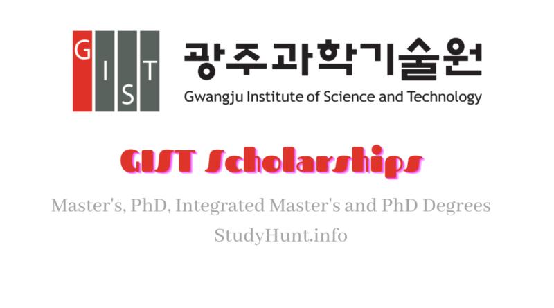 GIST Scholarships 2022