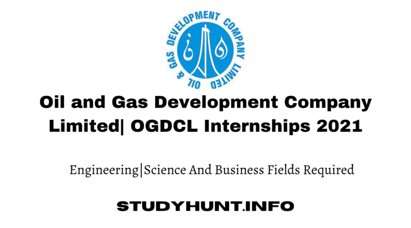 Oil and Gas Development Company Limited OGDCL Internships 2021