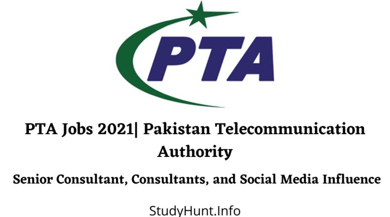 PTA Jobs 2021 Pakistan Telecommunication Authority