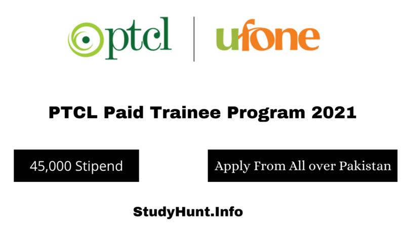 PTCL Paid Trainee Program 2021