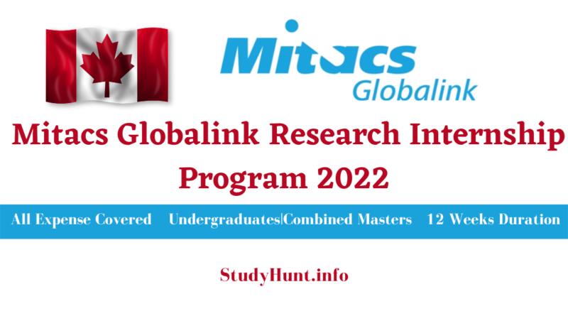 Mitacs internship program for international students