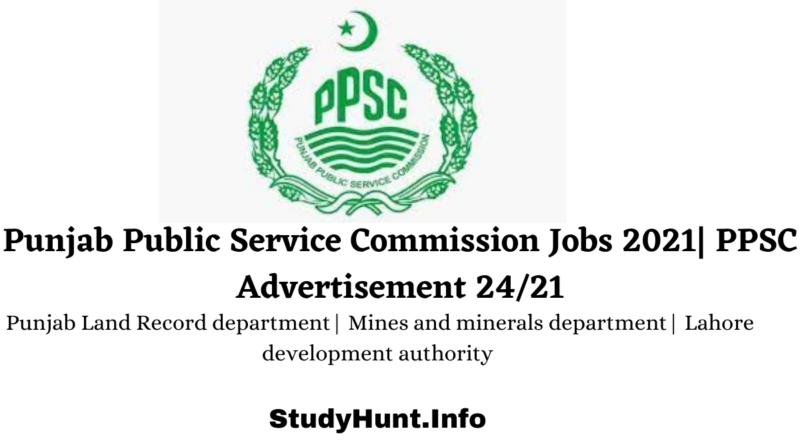 Punjab Public Service Commission Jobs 2021 PPSC Advertisement 2421