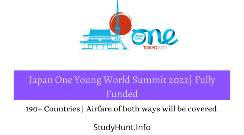 Japan One Young World Summit 2022 Fully Funded
